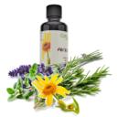 Arnica e Timo olio piedi OIL014-50 2 con fiori per sito