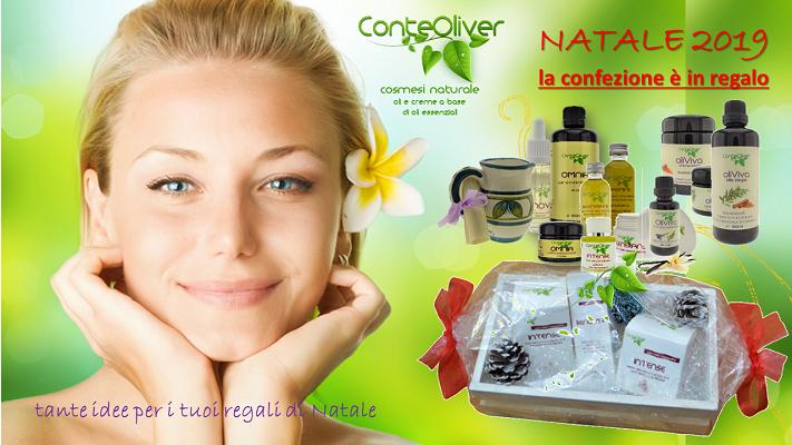 conte Oliver promozione NAtale 2019 cosmesi naturale x sito